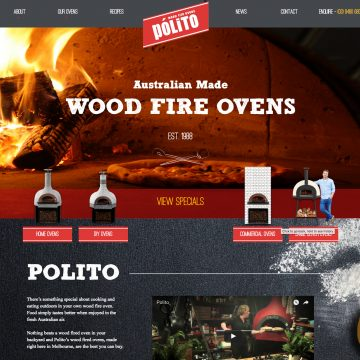 Polito Wood Fire Ovens Thumbnail